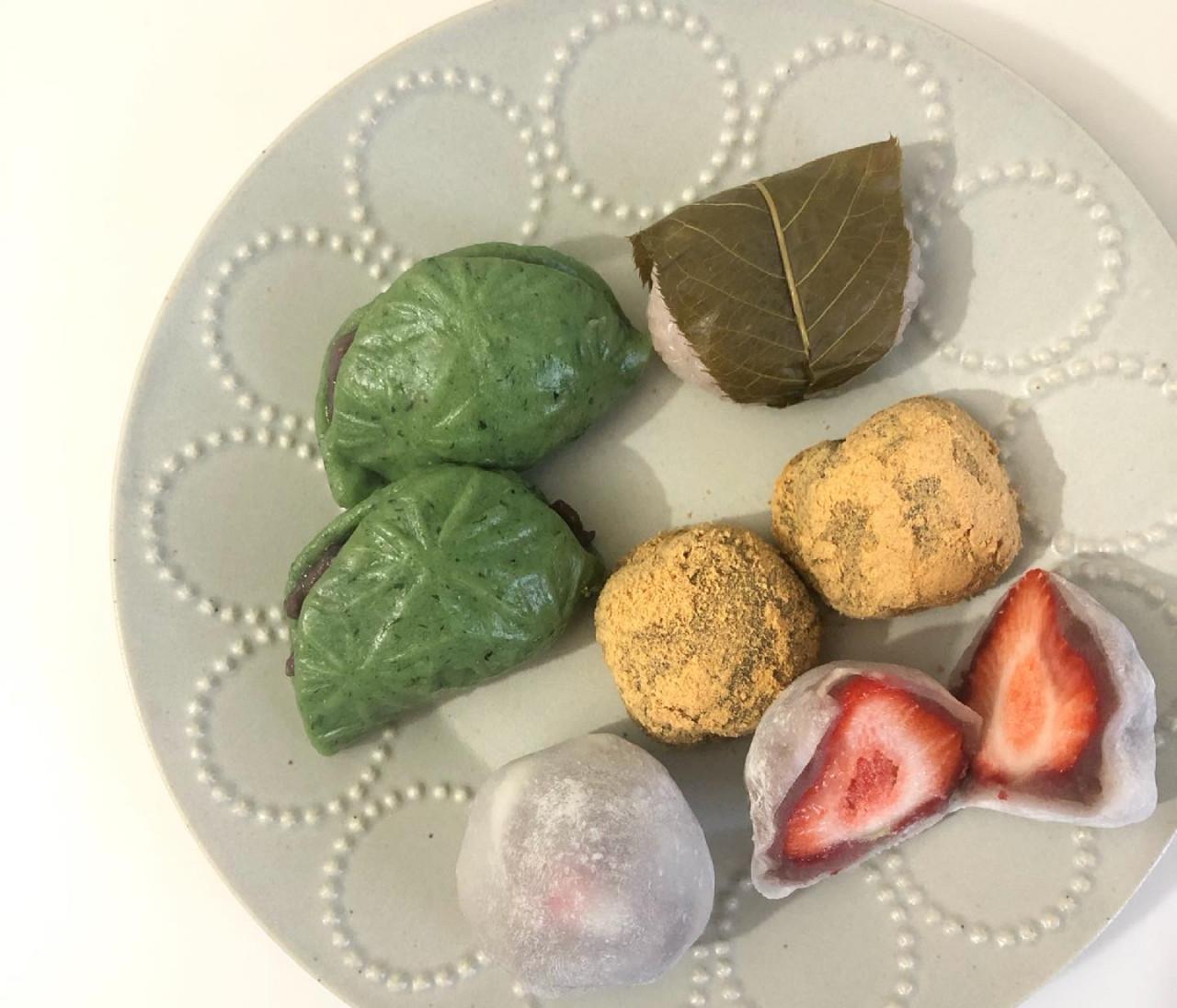 閉店してしまう「南青山まめ」の最後のいちご大福と和菓子たち