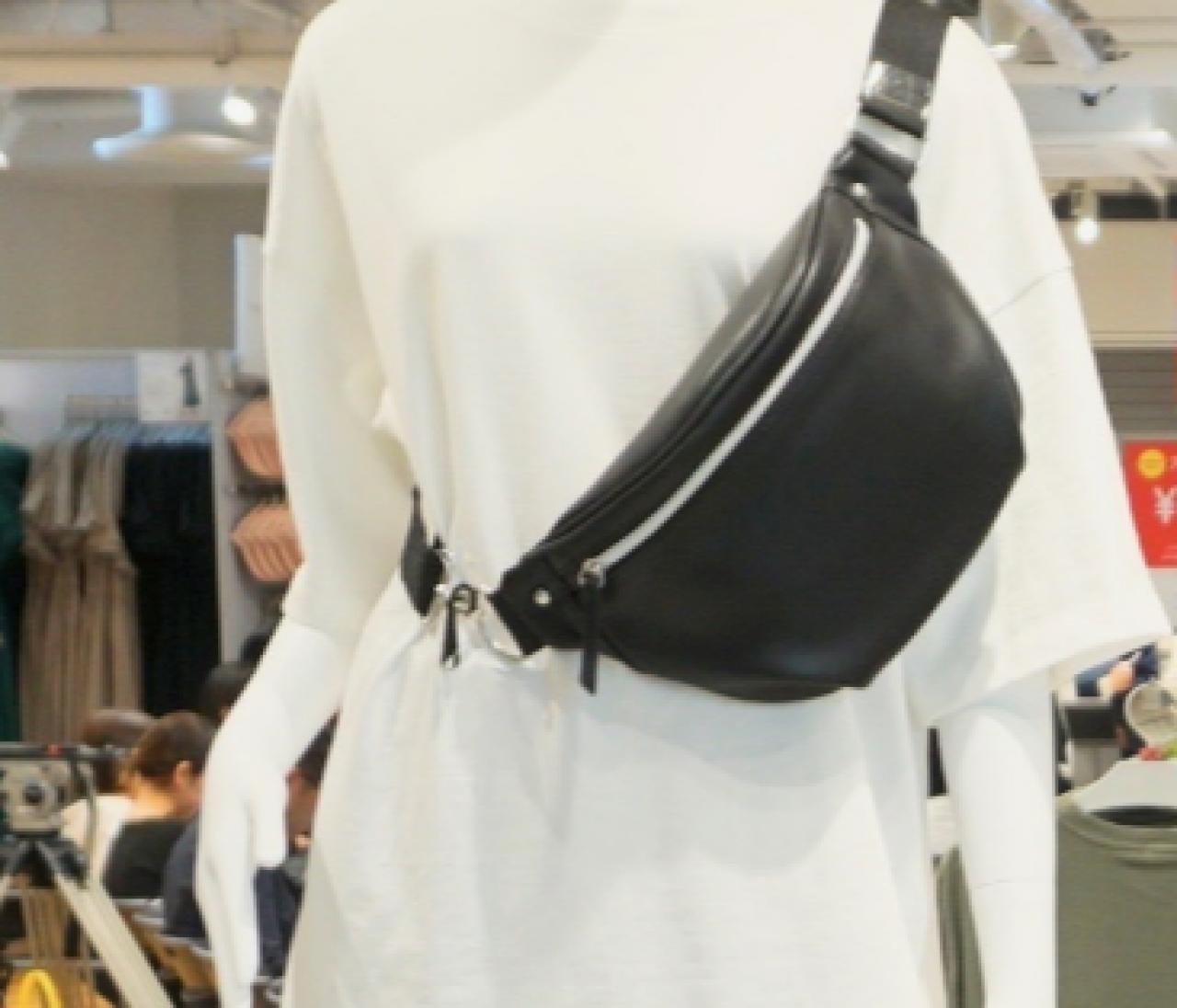 ¥1500以下【ジーユー(GU)】で買うべき新作トレンドバッグはウエストバッグ&サコッシュ!