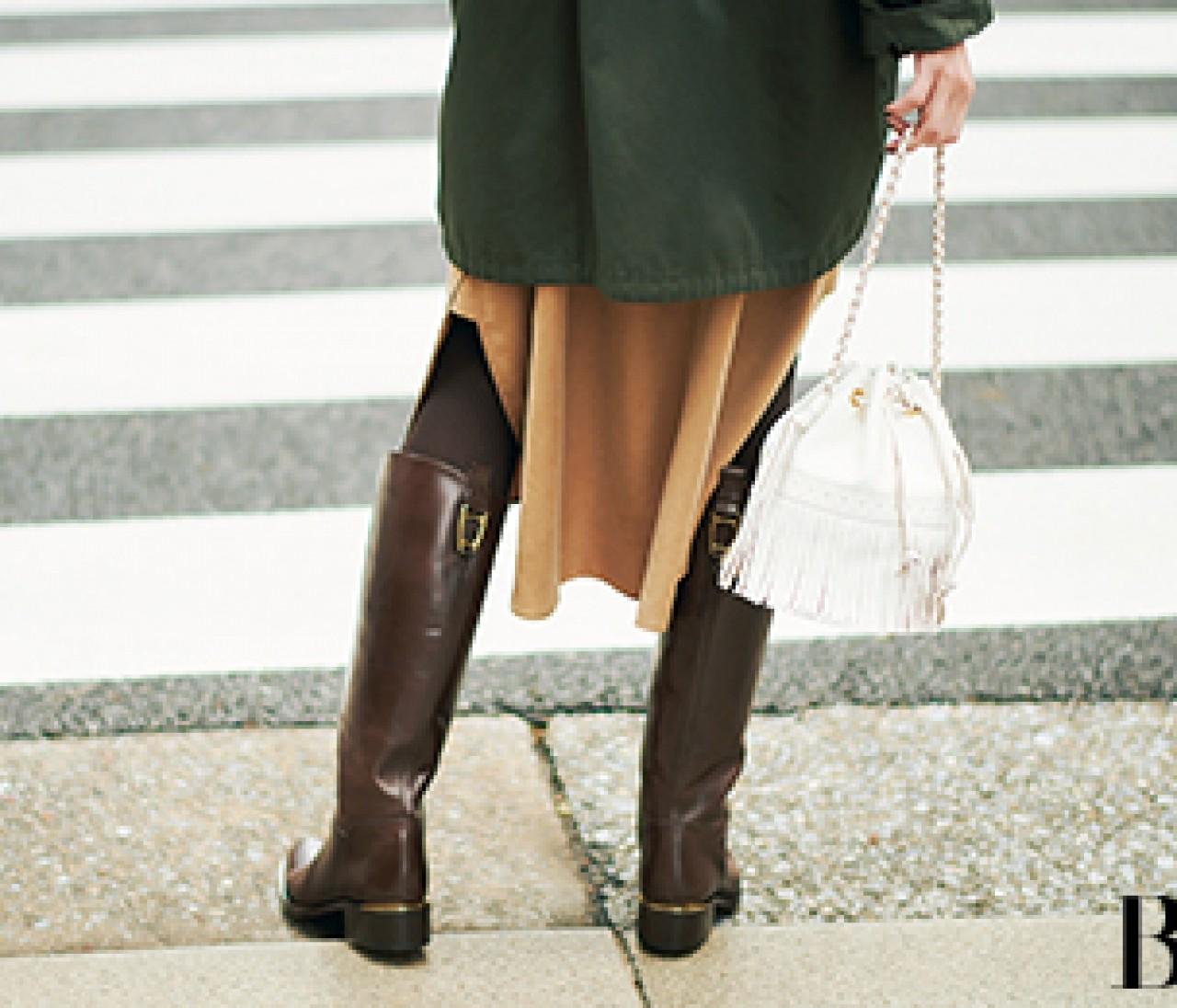 昔のロングブーツ、どれなら履いてOK? 古くさくならないには