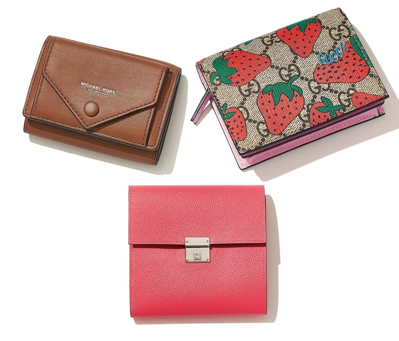 この秋、ミニ財布に買い替え♡ 毎日使う財布は憧れブランドが気分