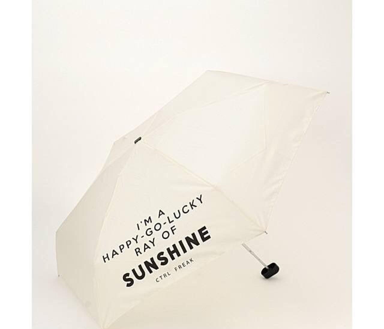 晴雨兼用フォトジェニ傘&靴でにわか雨も安心