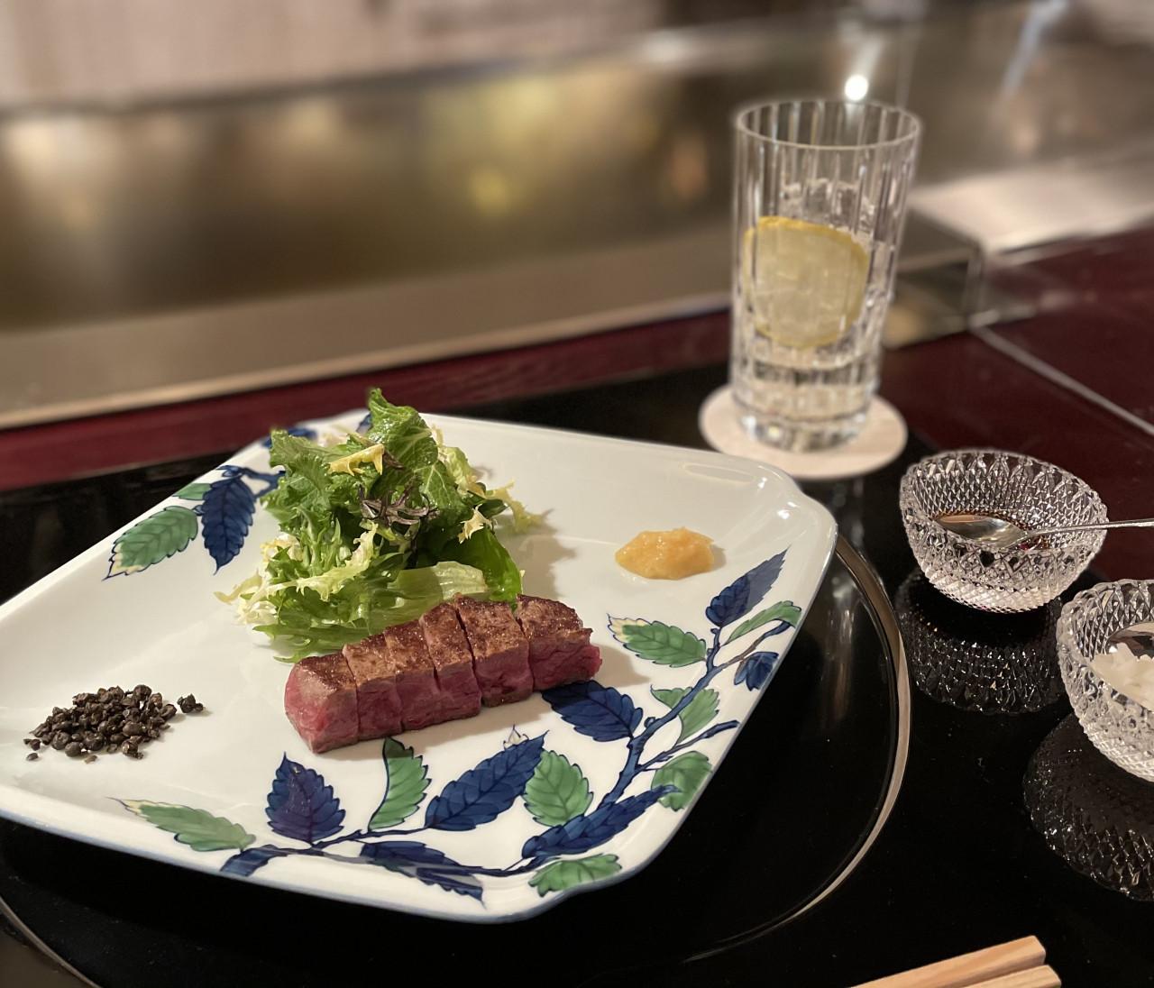 【都内】鉄板焼き名店「表参道うかい亭」