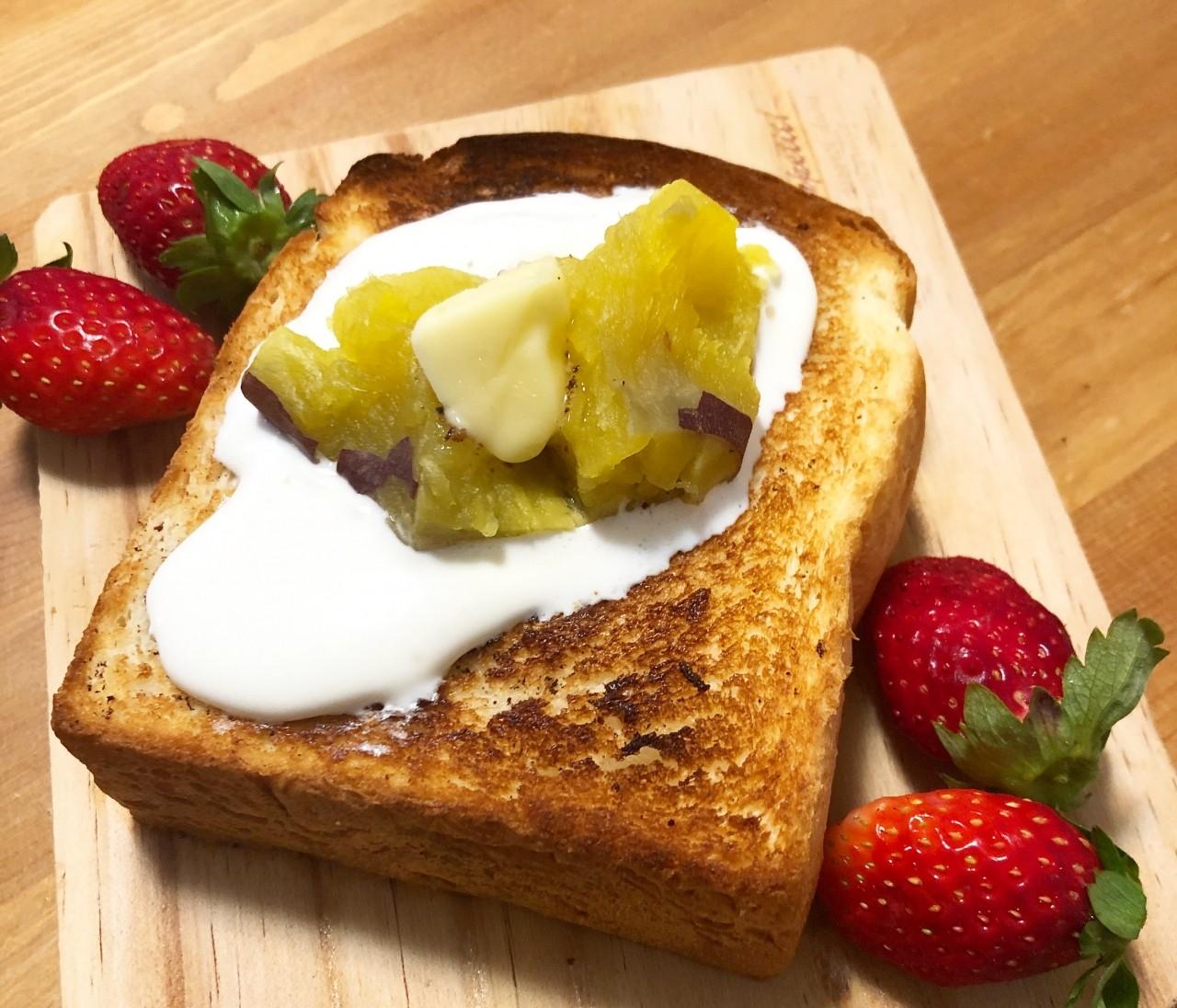 【おうちレシピ】LeBRESSOの食パンを簡単食パンアレンジ