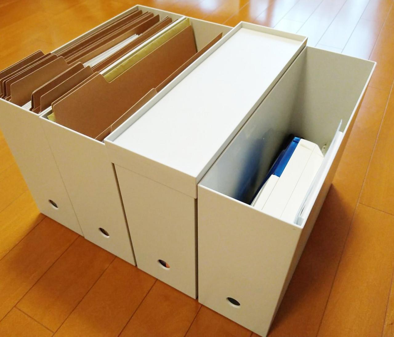 【無印良品】おしゃれな収納グッズ・ファイルボックスの活用法を紹介!