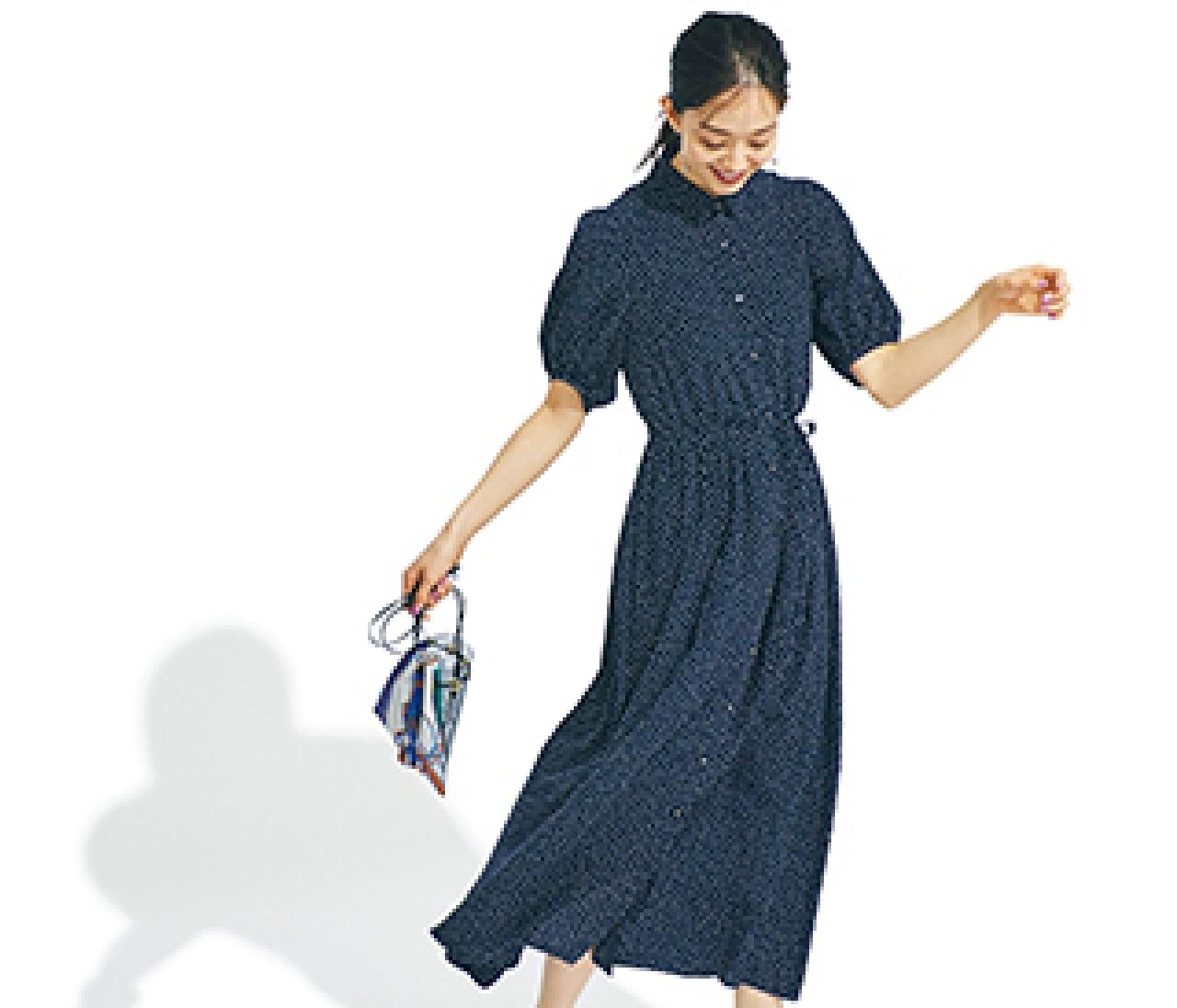 フレンチシックのトレンド代表【ドットワンピース】カタログ3選