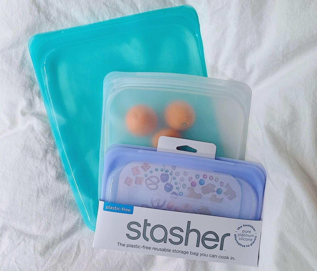 ゆるりと脱プラ生活。 【stasher】シリコンバッグがマルチに使えて便利!(食品保存/メイクポーチ)