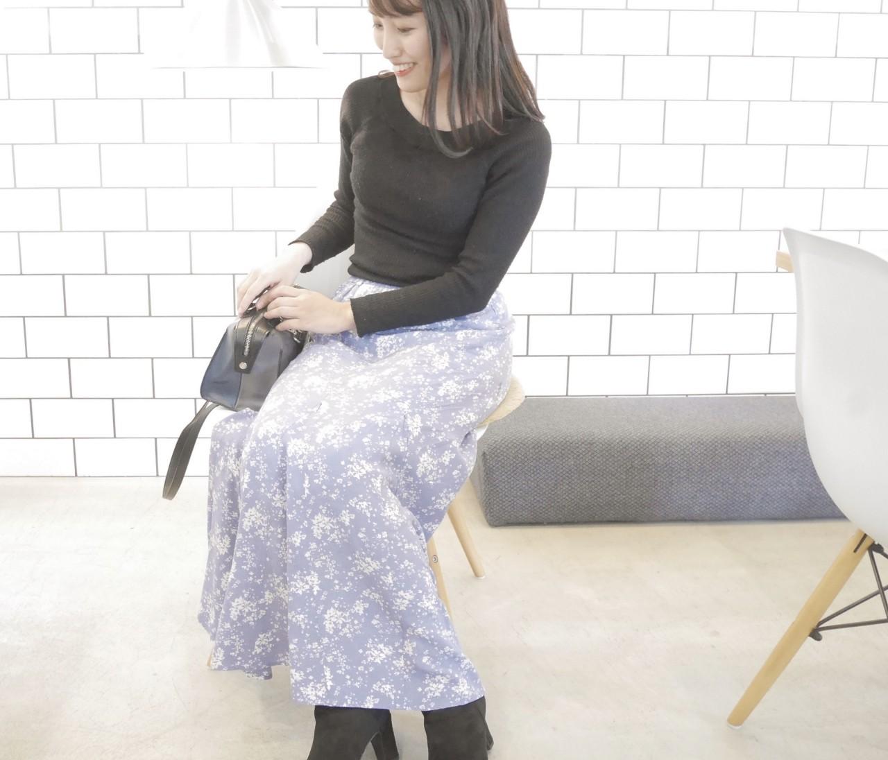 ユニクロで一目惚れしたスカート