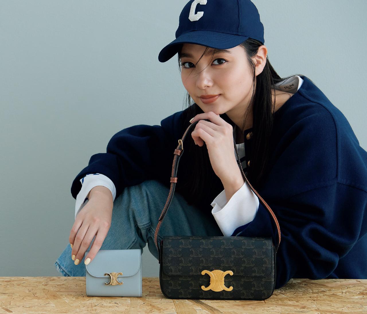 【セリーヌ】トリオンフのアイコンつきバッグ&お財布は普段使いに最適♡
