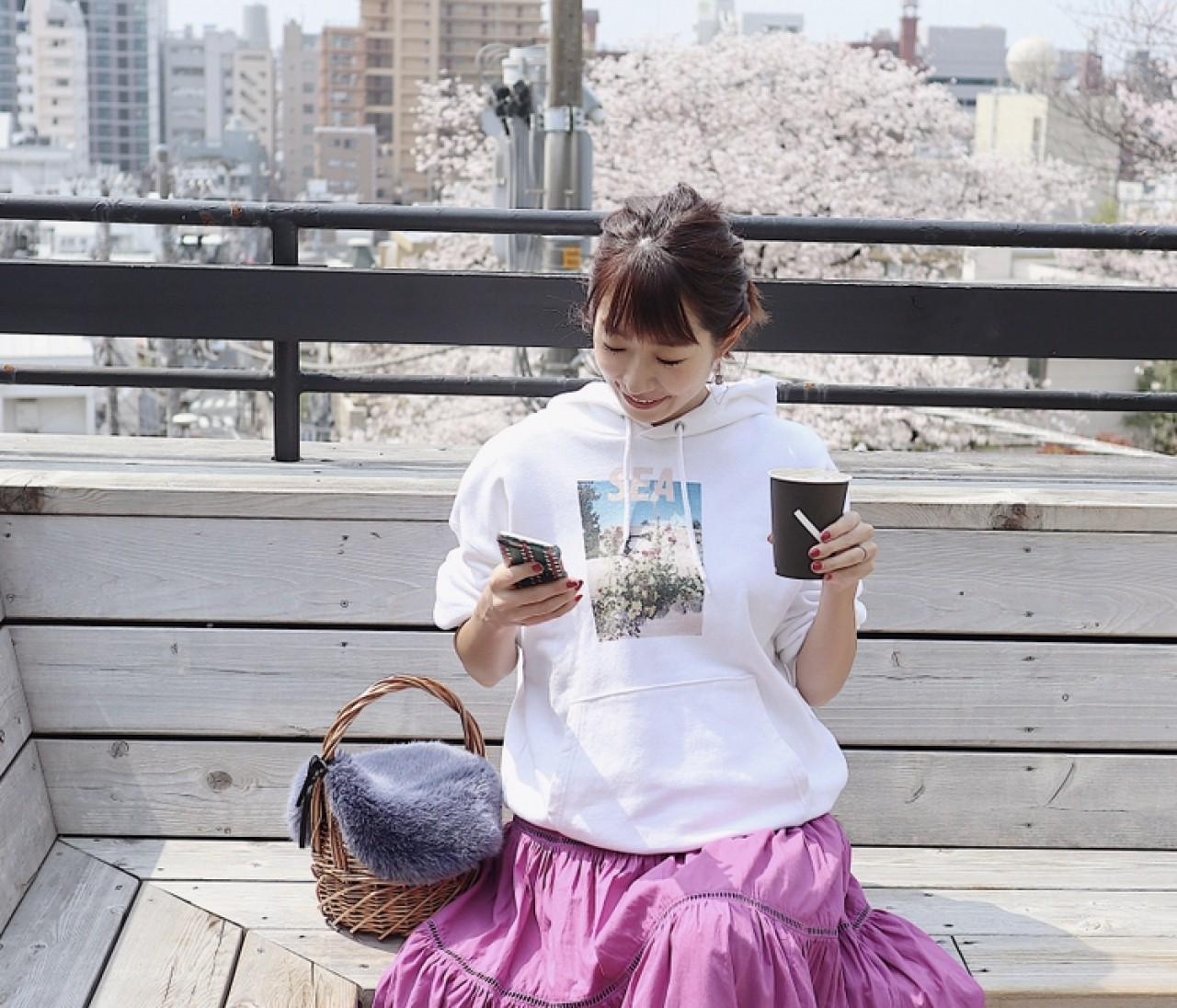 BAILA5月号 なんでもない日のピンク♡for me