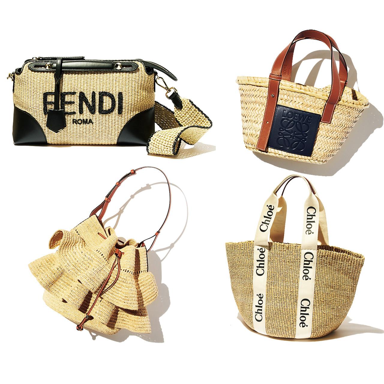 【人気ブランドのかごバッグ】グッチ、フェンディ、ロエベ…6ブランドまとめてチェック!