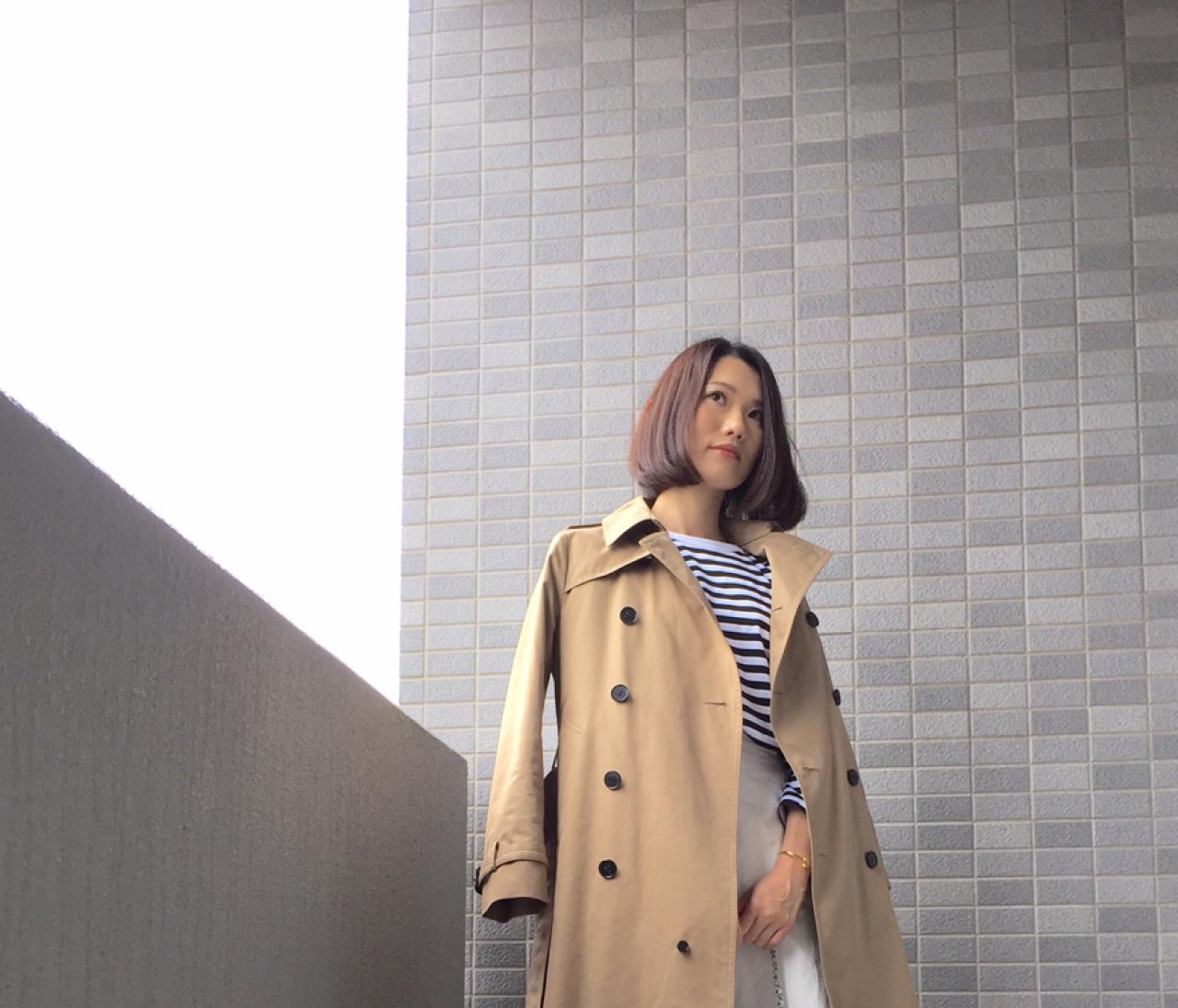 【#ときめきトレンチ #OOTD】吉田有希さん