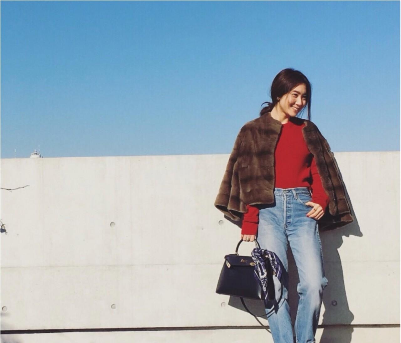 【#OOTD】人気ライター東原さんの冬の白スニーカーコーデはやっぱりしゃれてる!