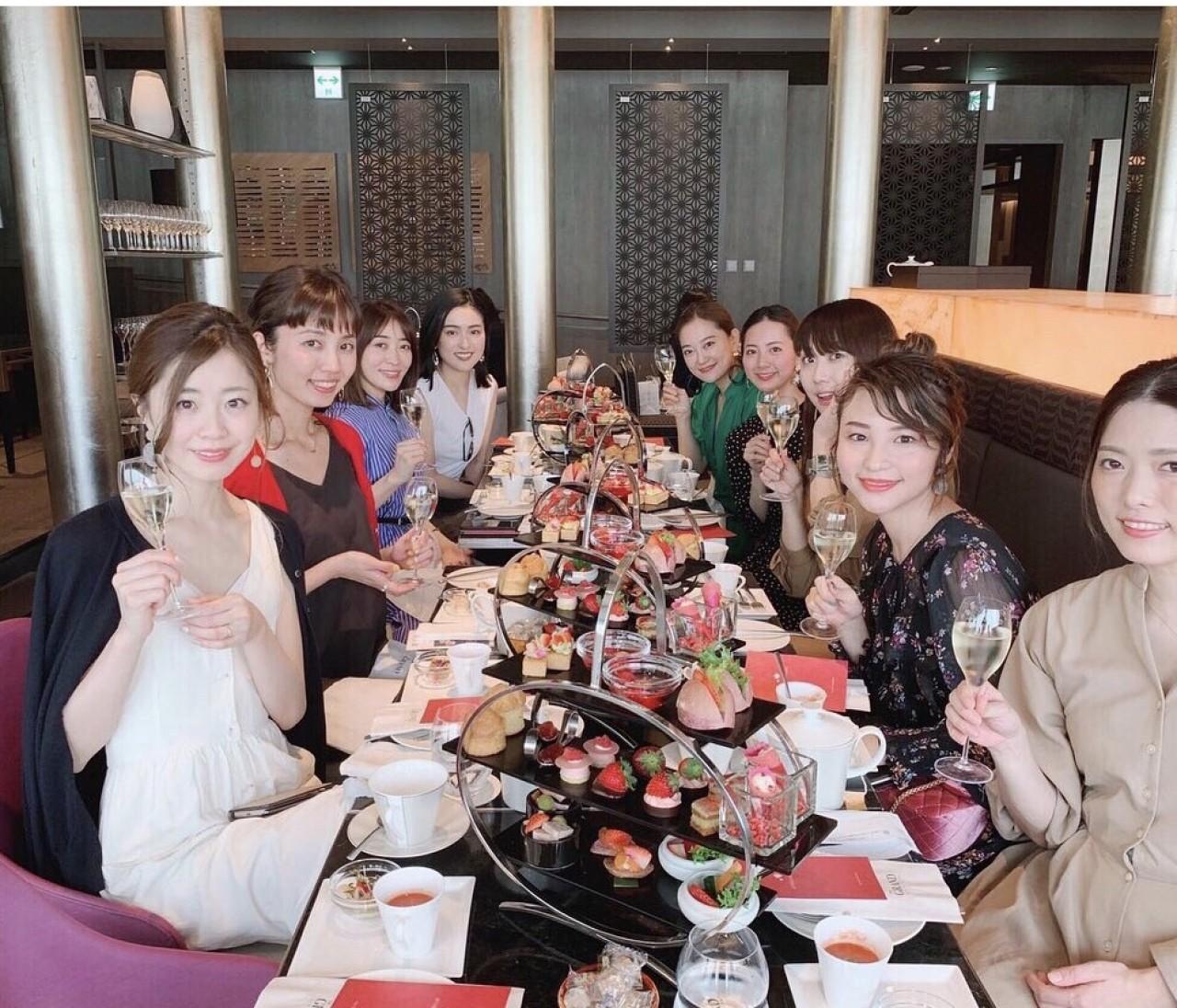 【バイラーズ女子会】GINZA SIXでオシャレアフタヌーンティー♡
