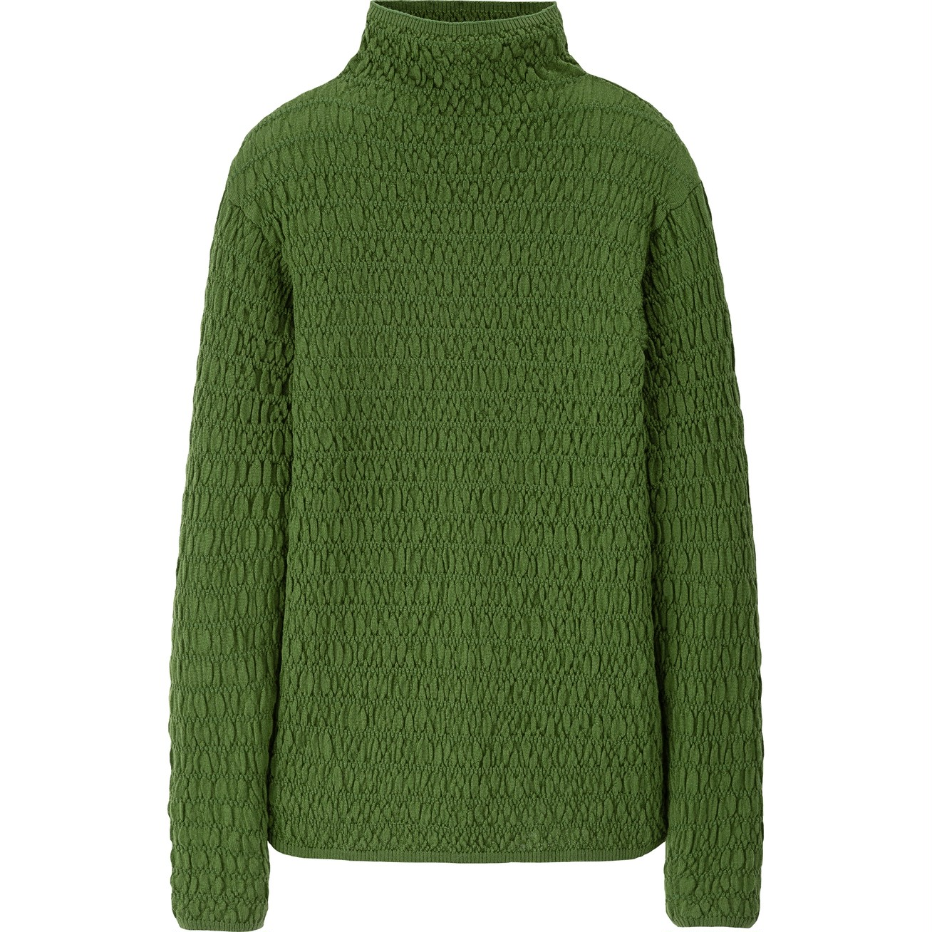 メリノブレンドシャーリングセーター(長袖)¥3990/ユニクロ(ユニクロ ユー)