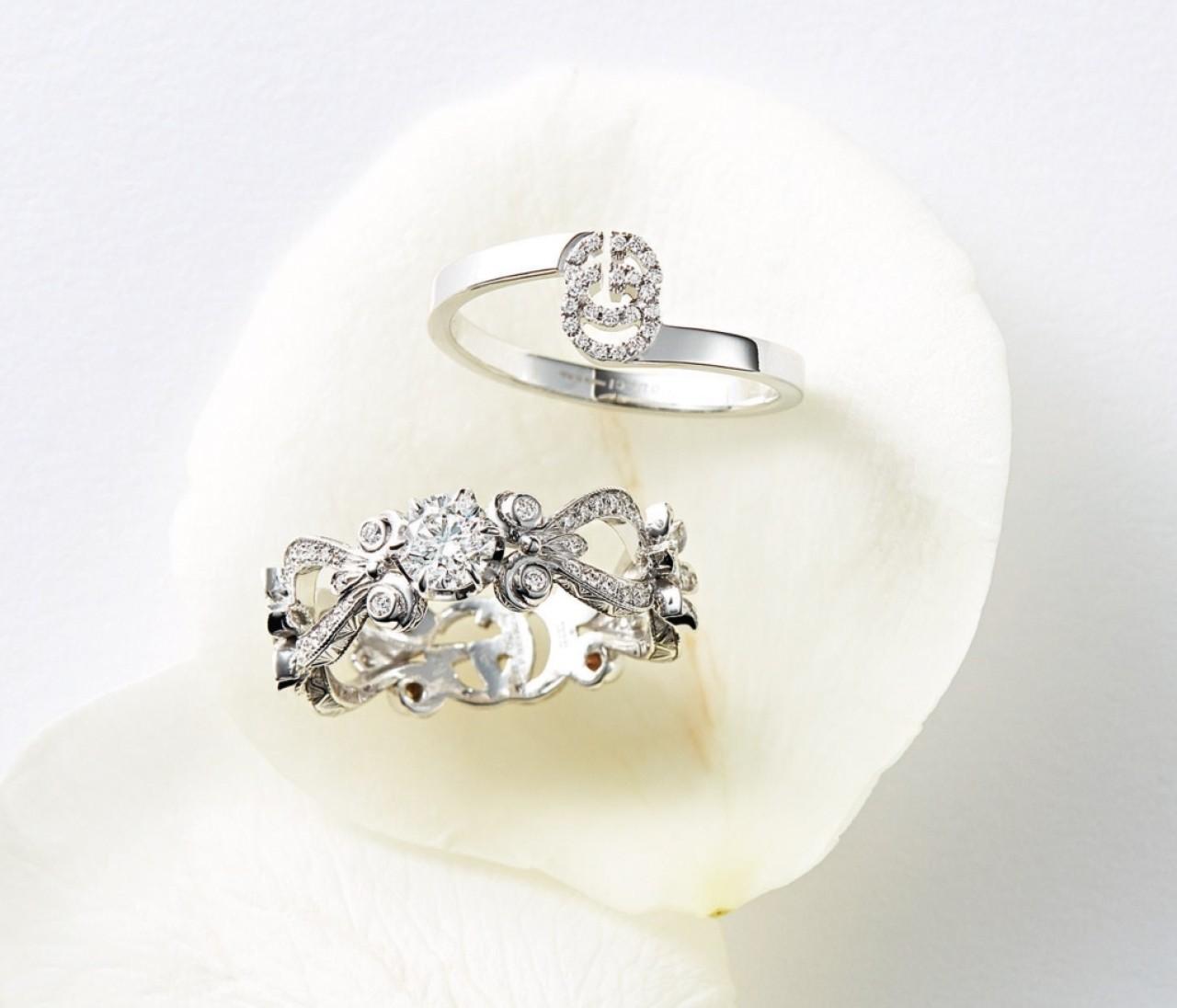 【グッチの結婚指輪&婚約指輪】ファッション性と華やかさで差がつく!