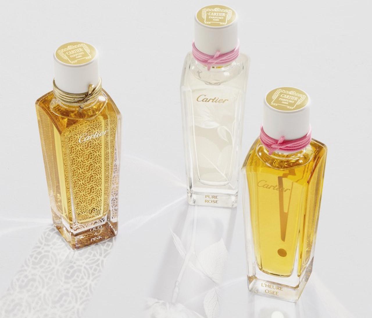 カルティエの香水、3つの香りがデビュー!野性味あふれるバラを表現したアプローチが新鮮