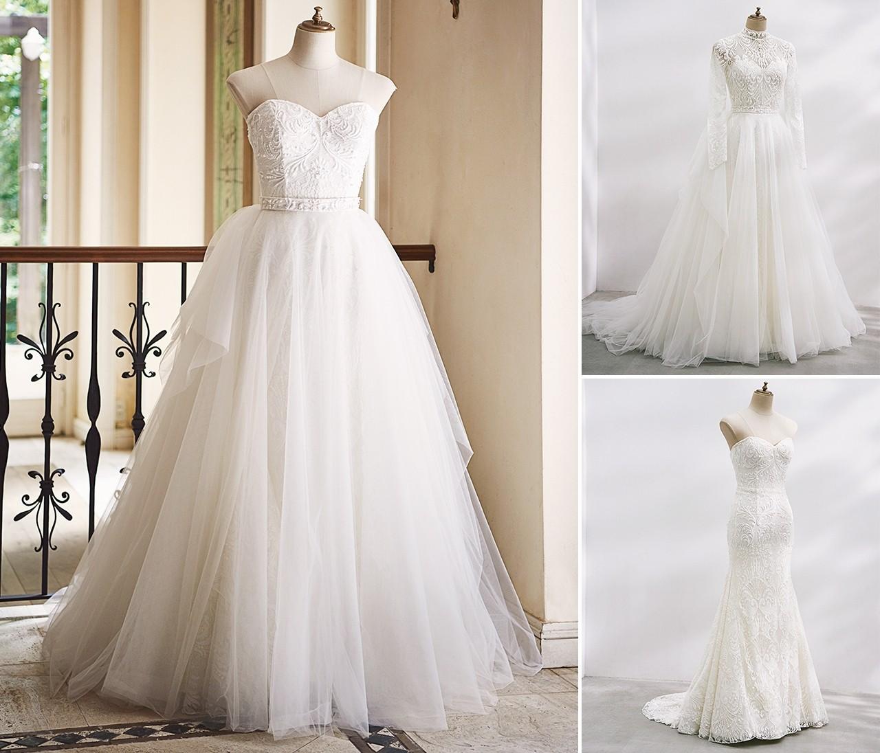 【30代花嫁のためのウェディングドレス】6つのトレンドニュース
