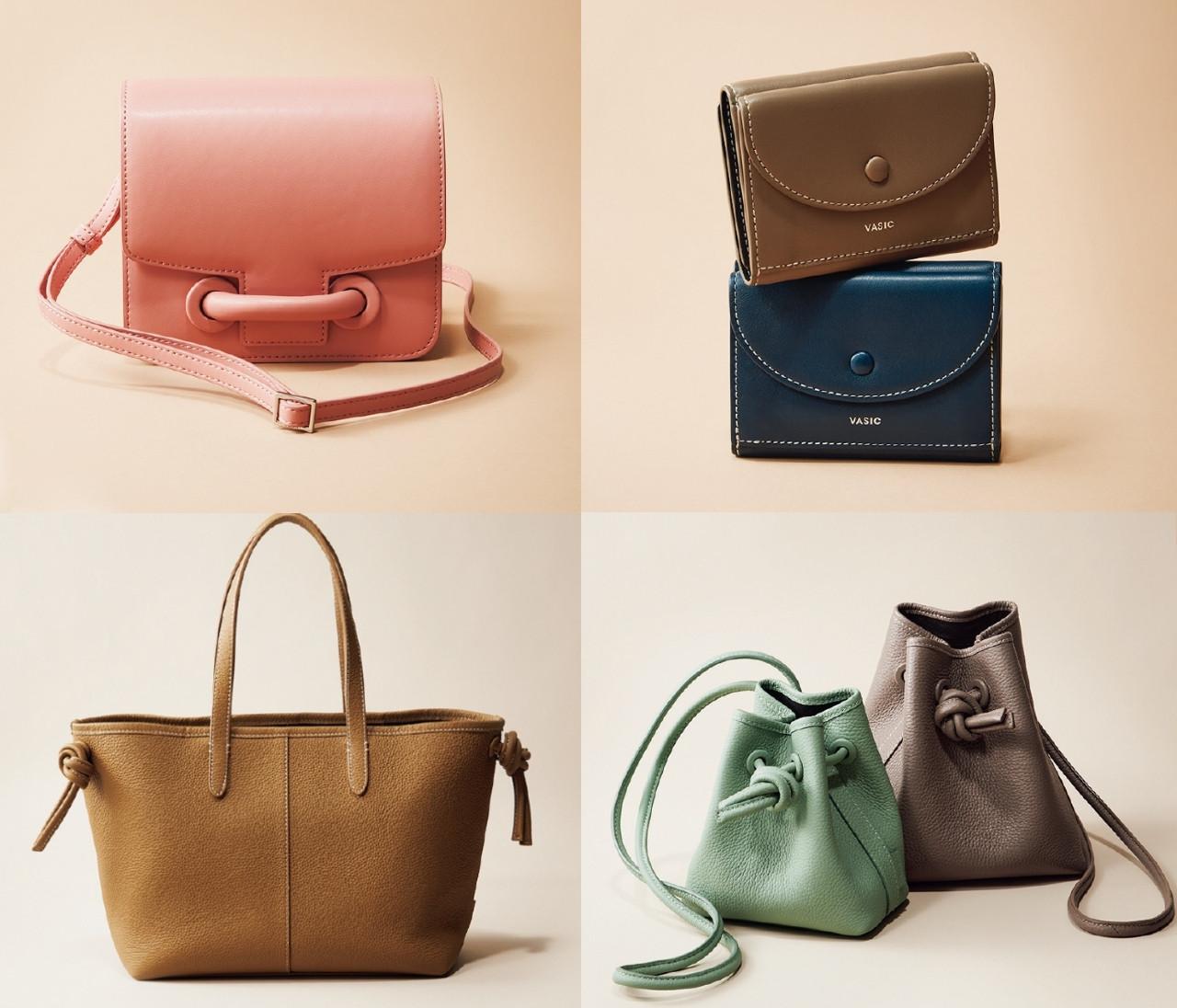 【VASICまとめ】新作と定番バッグのおすすめ&ミニ財布も!