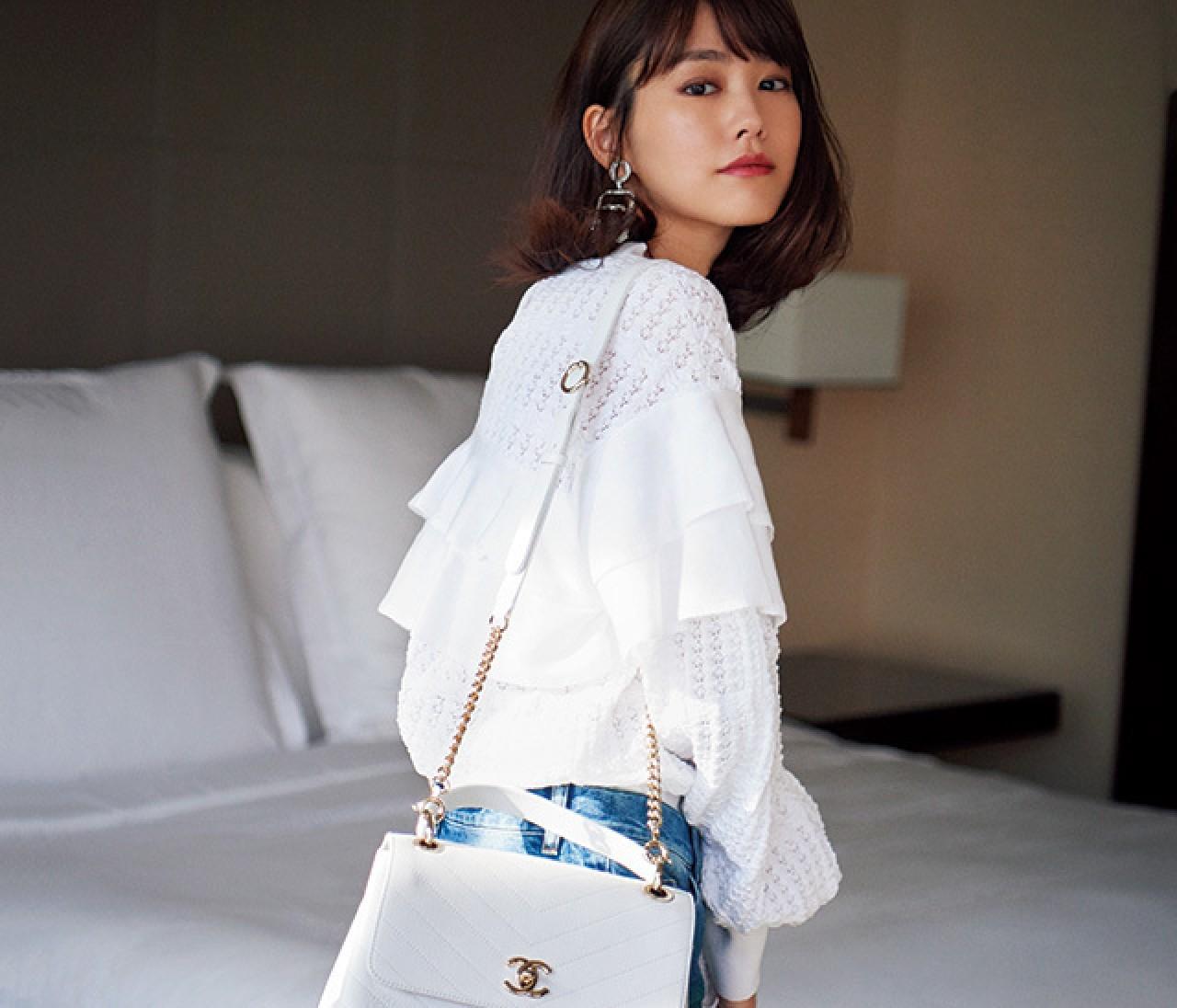 桐谷美玲が恋した、憧れブランドの新作バッグ&シューズ9選