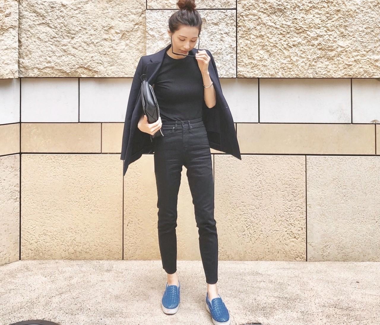 【30代のリアルコーデ】10月はPLSTプラステのジャケットが活躍