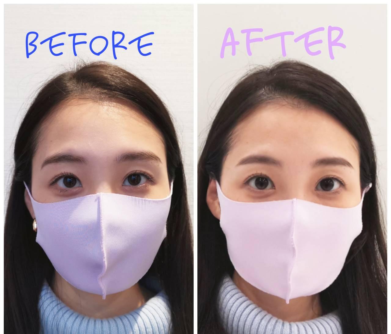 マスク時代「眉」で顔が盛れる!人気アイブロウサロンで眉を整えた結果がすごかった
