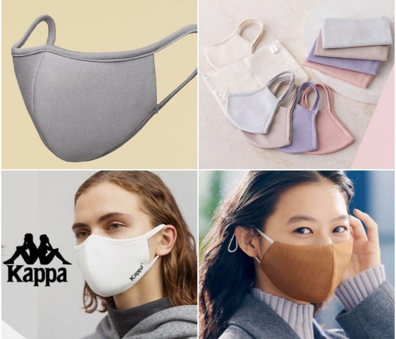 【ジーユー(GU)】から高機能フィルター搭載おしゃれマスク4種登場、10月30日(金)から順次発売決定!