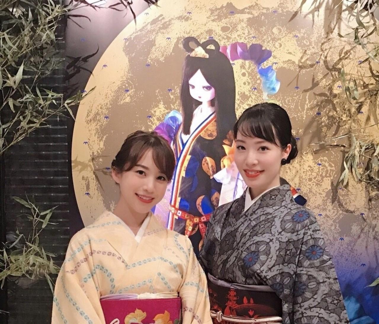 東京キモノショー2019♡各国をイメージした振袖