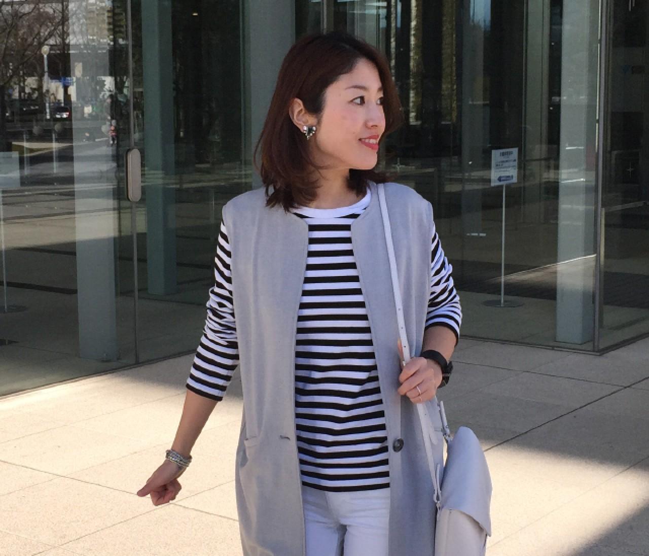 【#バイラーズの春服 #OOTD】辰口雪絵さん