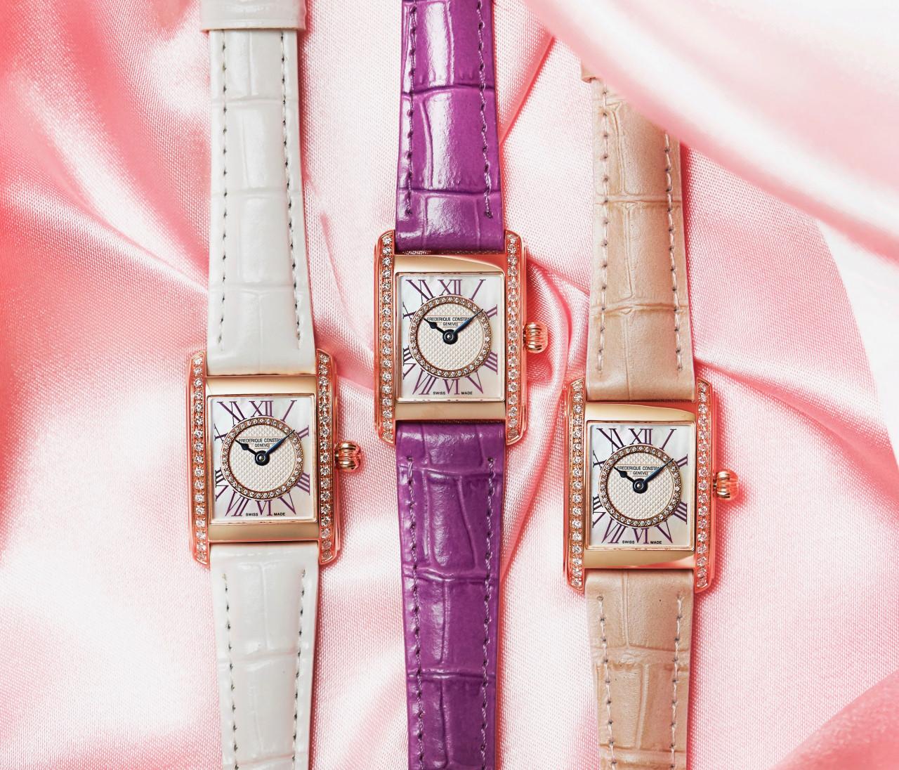 【フレデリック・コンスタント】人気時計のレザーストラッププレゼントも!レディース フェスタを開催♡