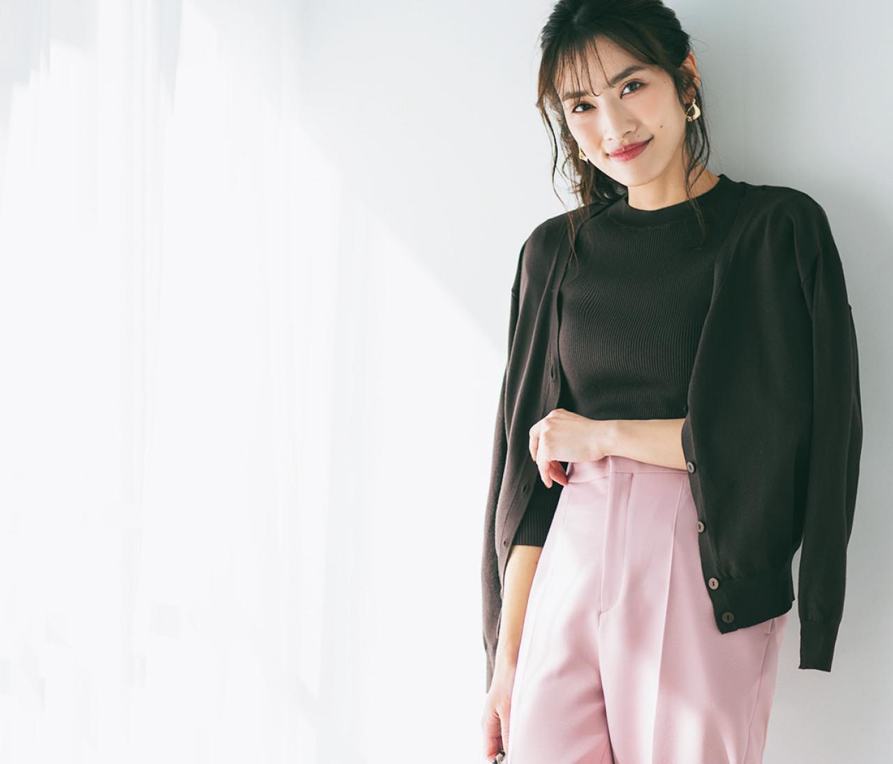 スカート派の私。この春トレンドのパンツを買いたいけど、どんなタイプなら着こなしやすい?【似合うワードローブ診断1】