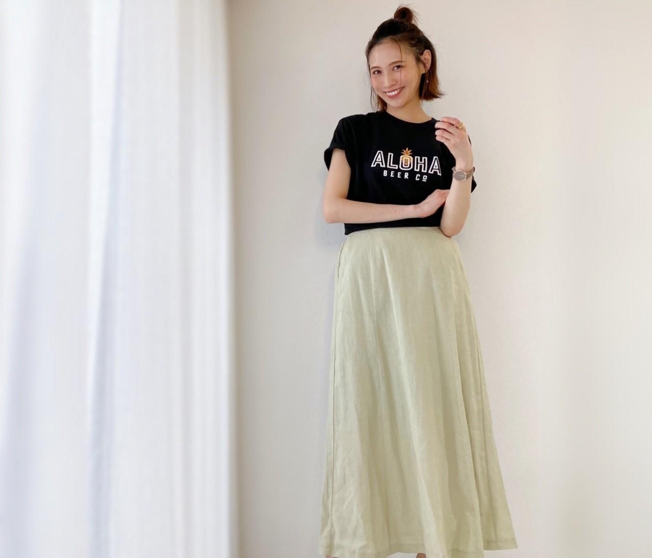 夏の黒TシャツはユニクロUT!ZARAとGUで着回しコーデ!