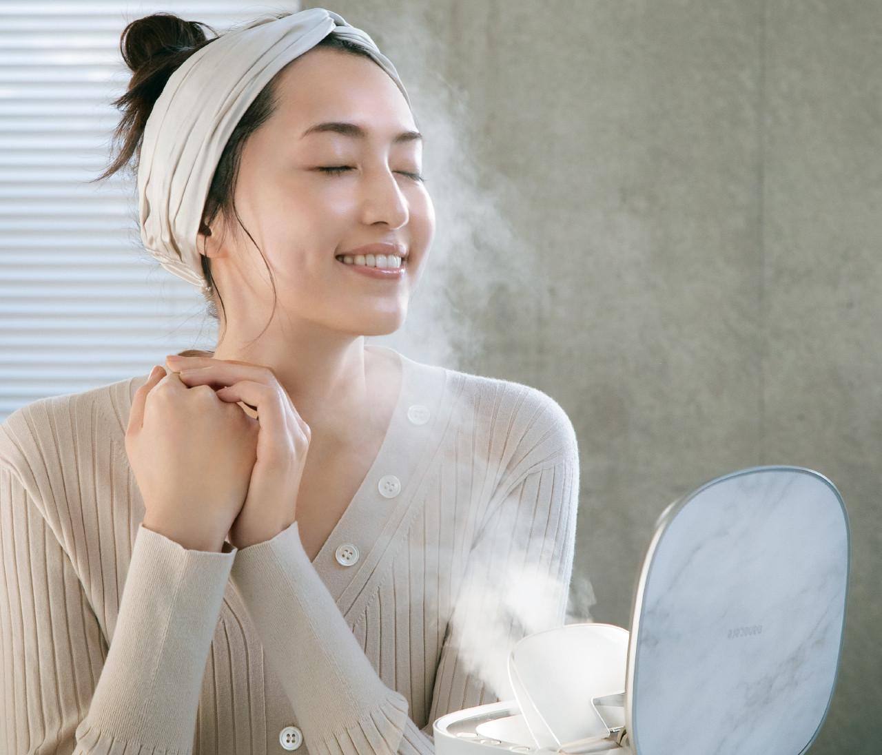【美容研究家 有村実樹さんのスチーム美容】スチーマー、使うと肌って変わりますか?