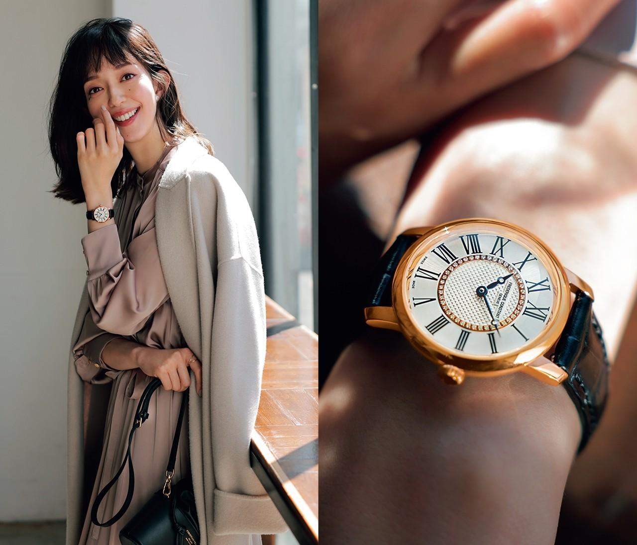 """【デイリー時計の相棒に""""丸型フェイス""""が新登場!】新しい日常に寄り添う、フレデリック・コンスタントの上質時計"""