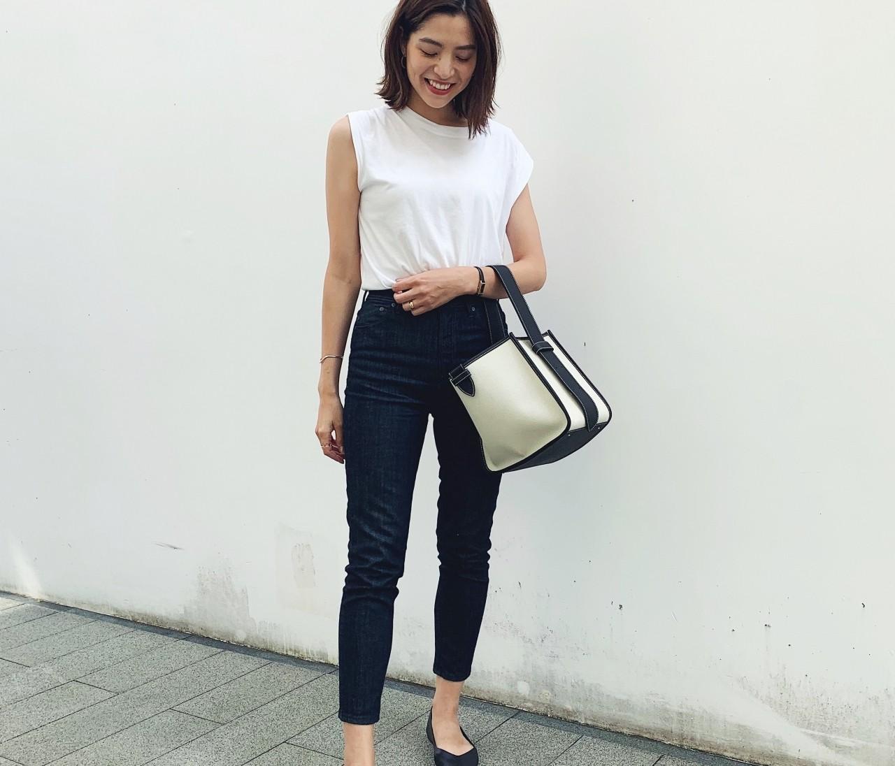 VASIC初購入。シンプルな服を引き立ててくれるバッグに一目惚れ。