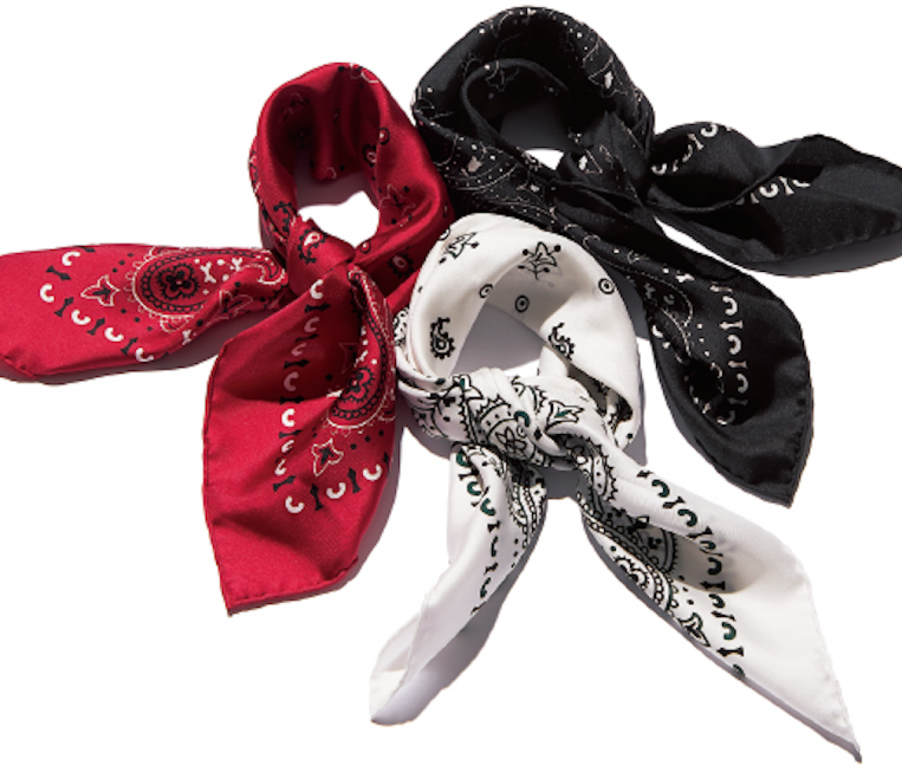 【マニプリ】夏の売れ筋スカーフは'90年代風バンダナ柄★
