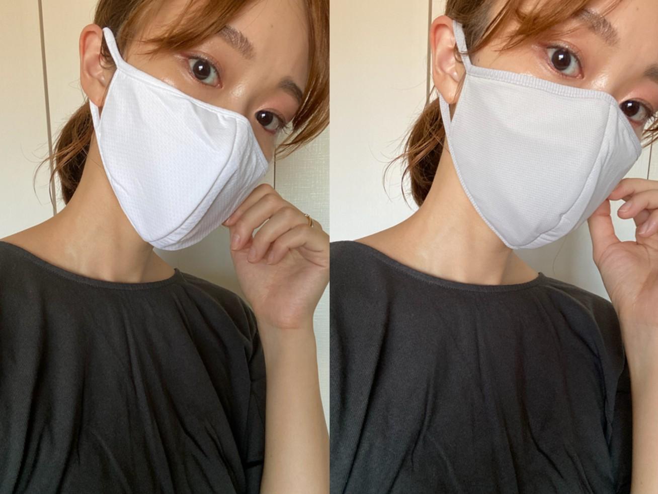 【UNIQLO】進化したエアリズムマスクはここがすごい!新旧比較してみました。