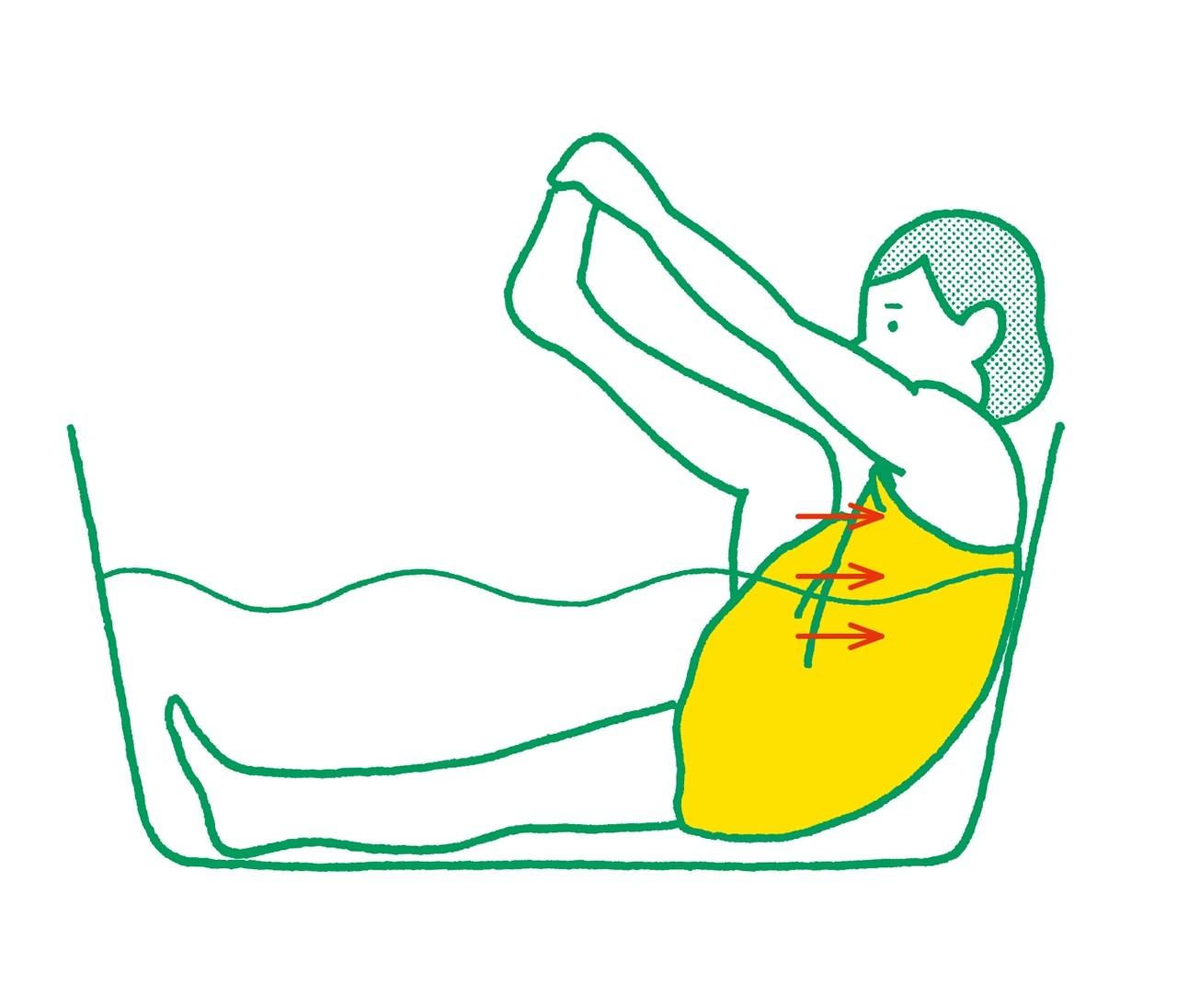 【脚裏伸ばしダイエット】お風呂で手軽に脚裏伸ばしトレーニング