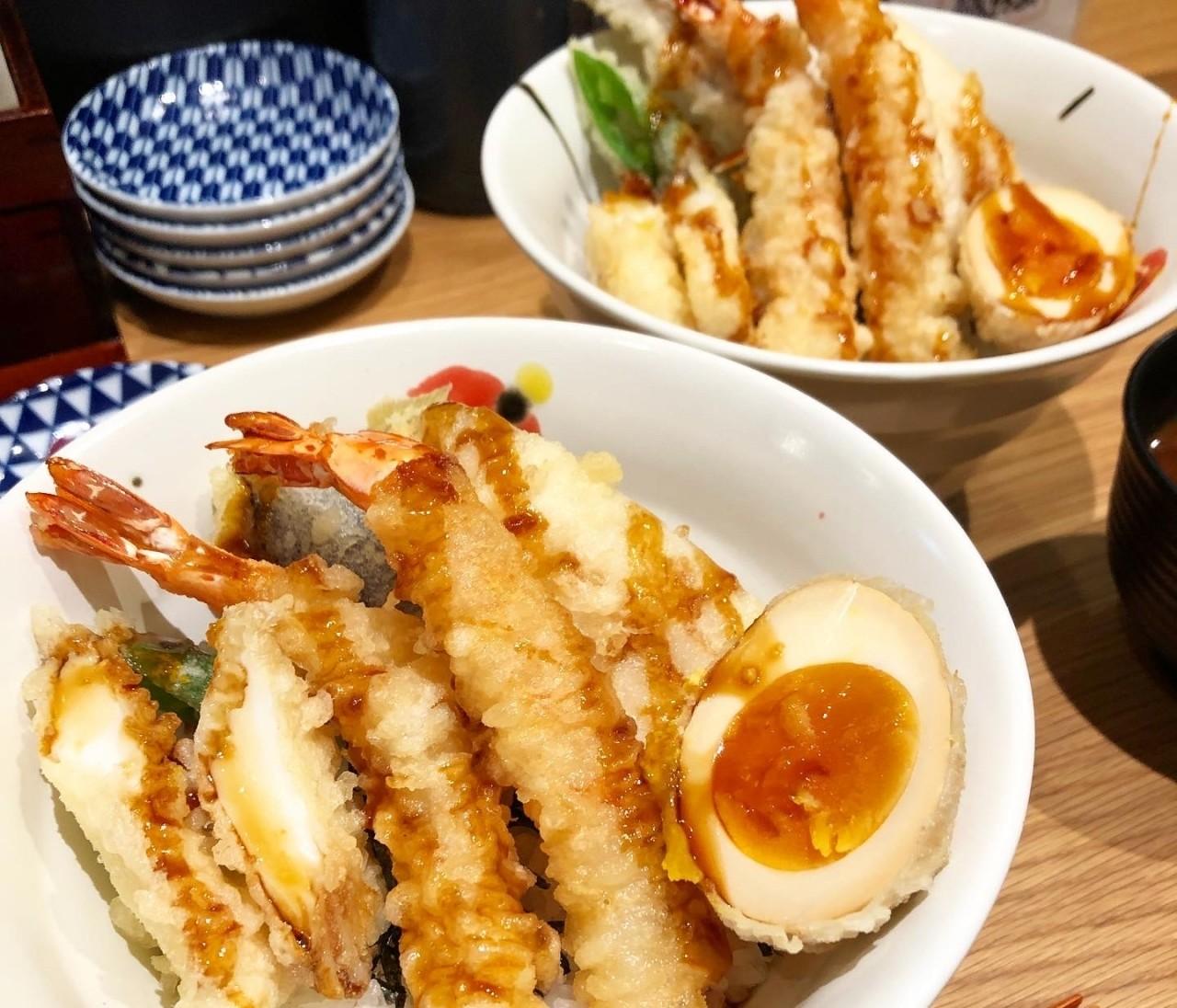 渋谷ランチ≫女性に嬉しい低カロリーな天ぷら⁈