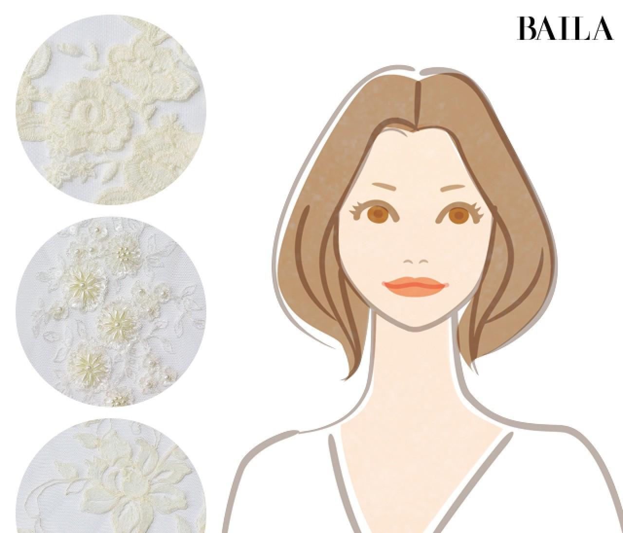 【イエベ肌×男顔】シャンパン姫タイプのあなたはどんな「白ドレス」が似合う?