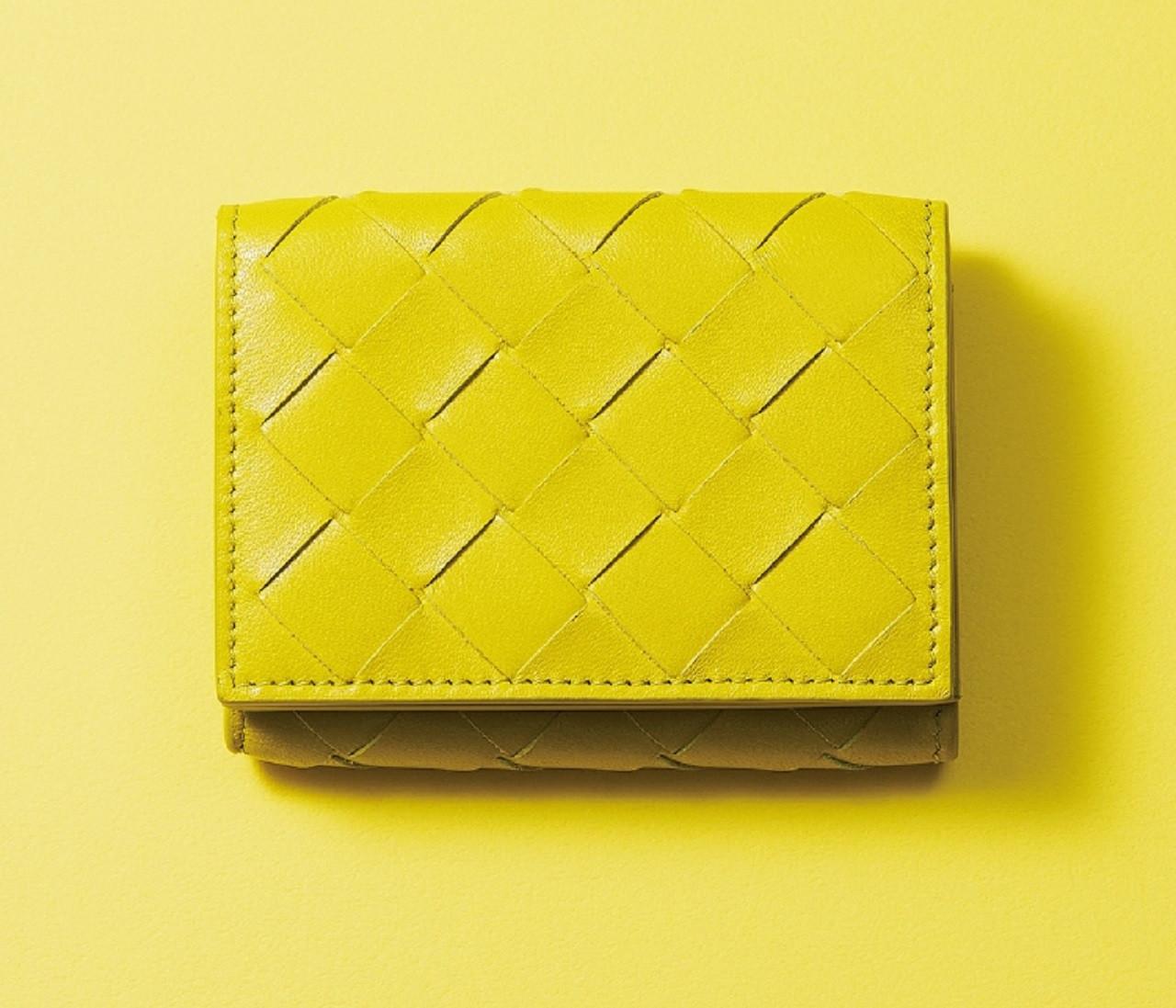 ロエベ、ディオール、ボッテガ…ハイブランドのミニ財布、きれい色系4選【30代の新名品】