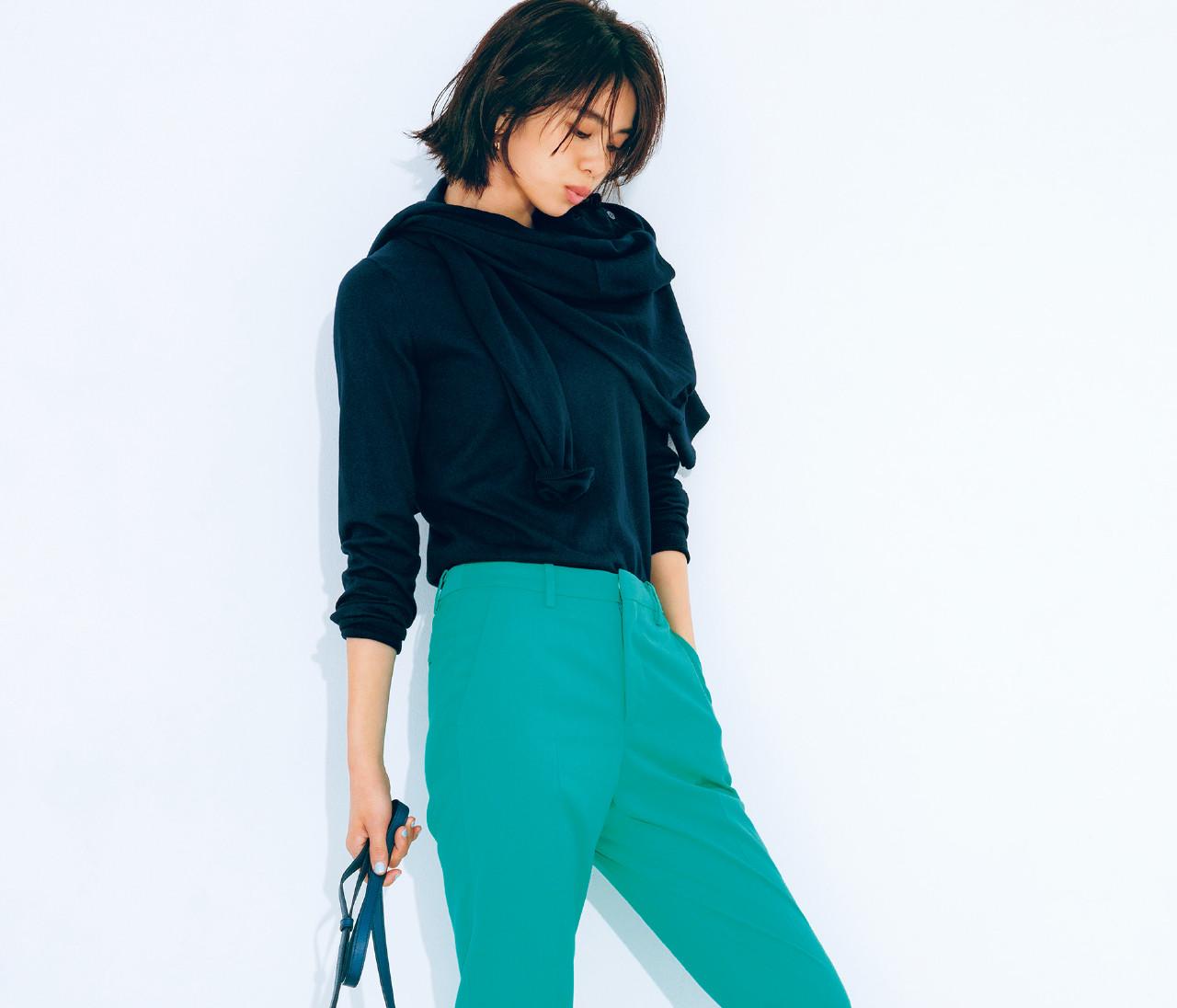 きれい色パンツに似合うスニーカーって?スタイリストがアドバイス!