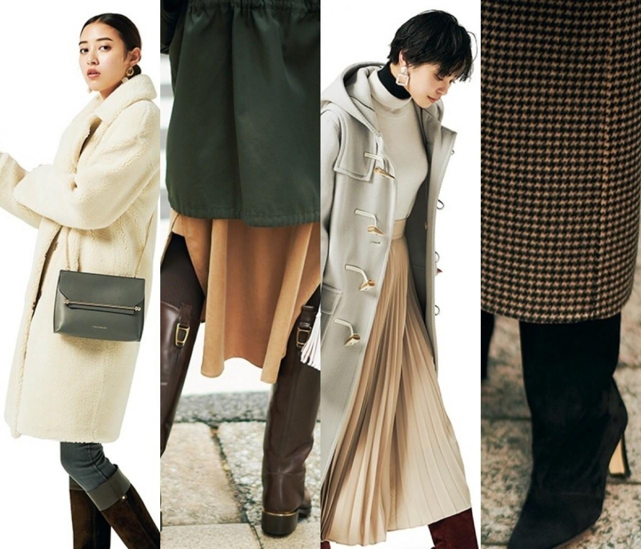 【ロングブーツ】最新コーデ17選! 古くさくならずに今季っぽく履くには?
