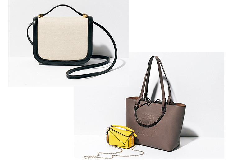 【ロエベ&ジル サンダーの新作バッグ】この春新鮮なトートバッグ&ショルダーバッグをチェック!