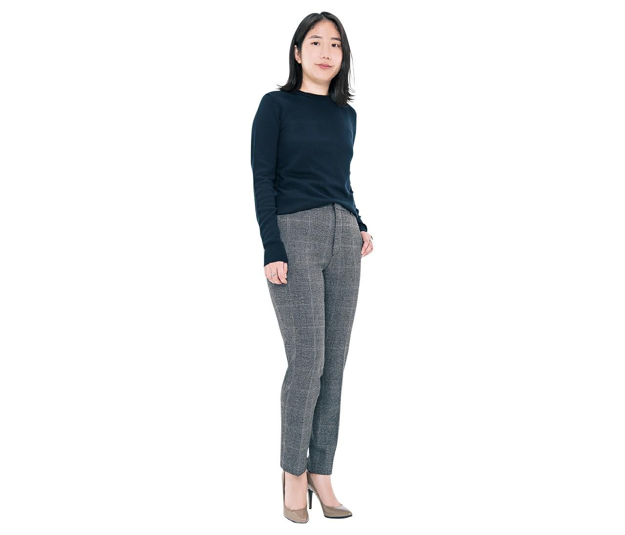 【整形級パンツ】身長161cm平均女子「-2キロ見え」をめざすパンツ選び