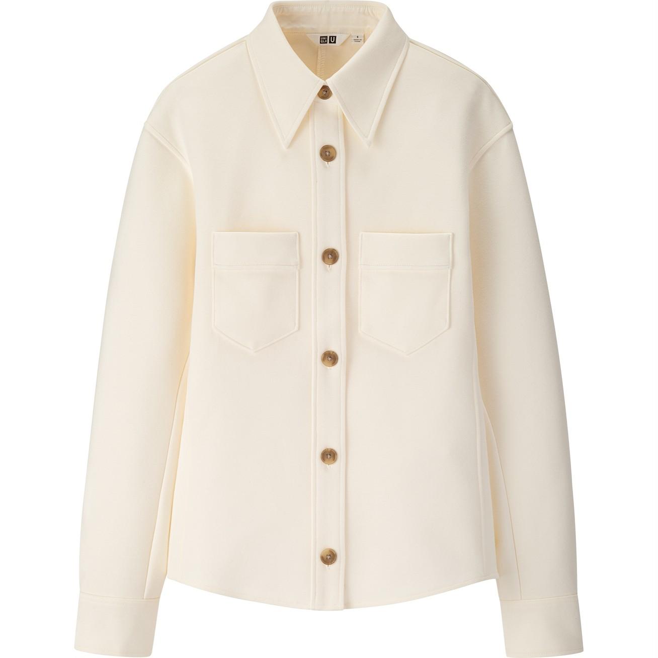 ジャージーダブルポケットシャツ¥4900/ユニクロ(ユニクロ ユー)