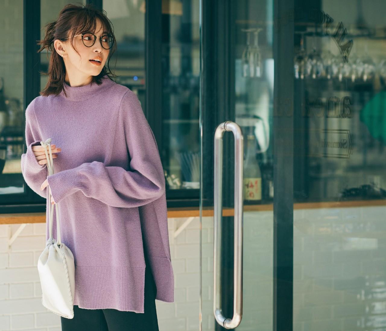 アンダー1万円の実力派「ミラ オーウェン」の2wayデザインニットはアレンジ幅がすごい!