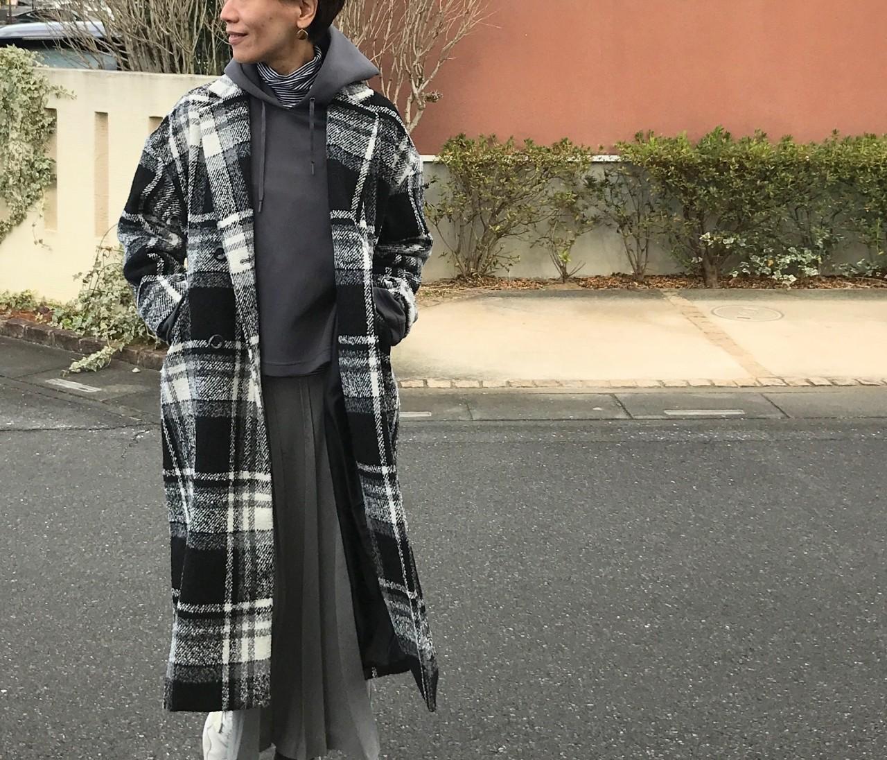 ¥3900コートに¥280タイツ【しまむら】 #しまパト で狙いたい本当にコスパがいい服はコレ!