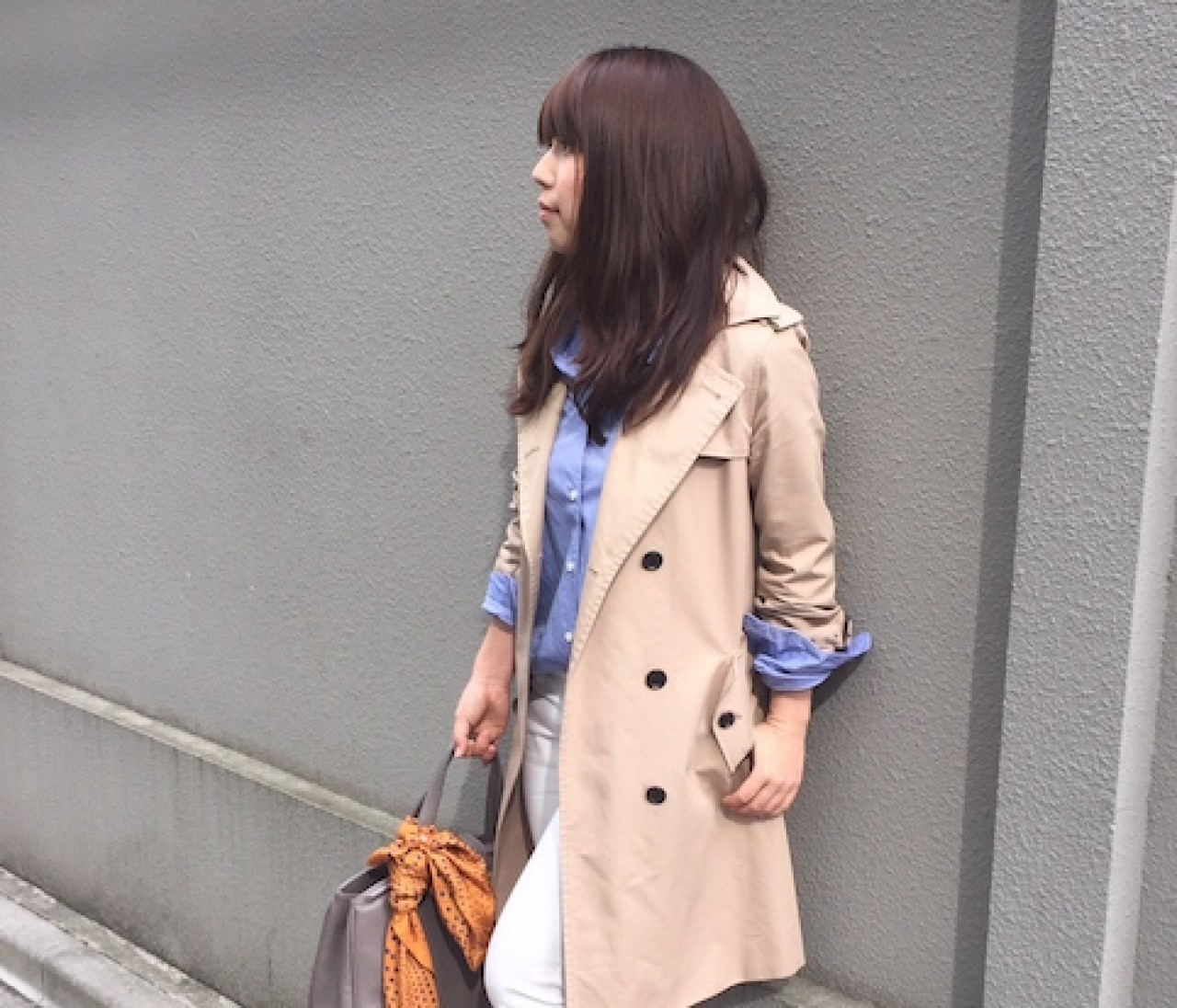 【#OOTD】編集M、外で打ち合わせの日のOOTD