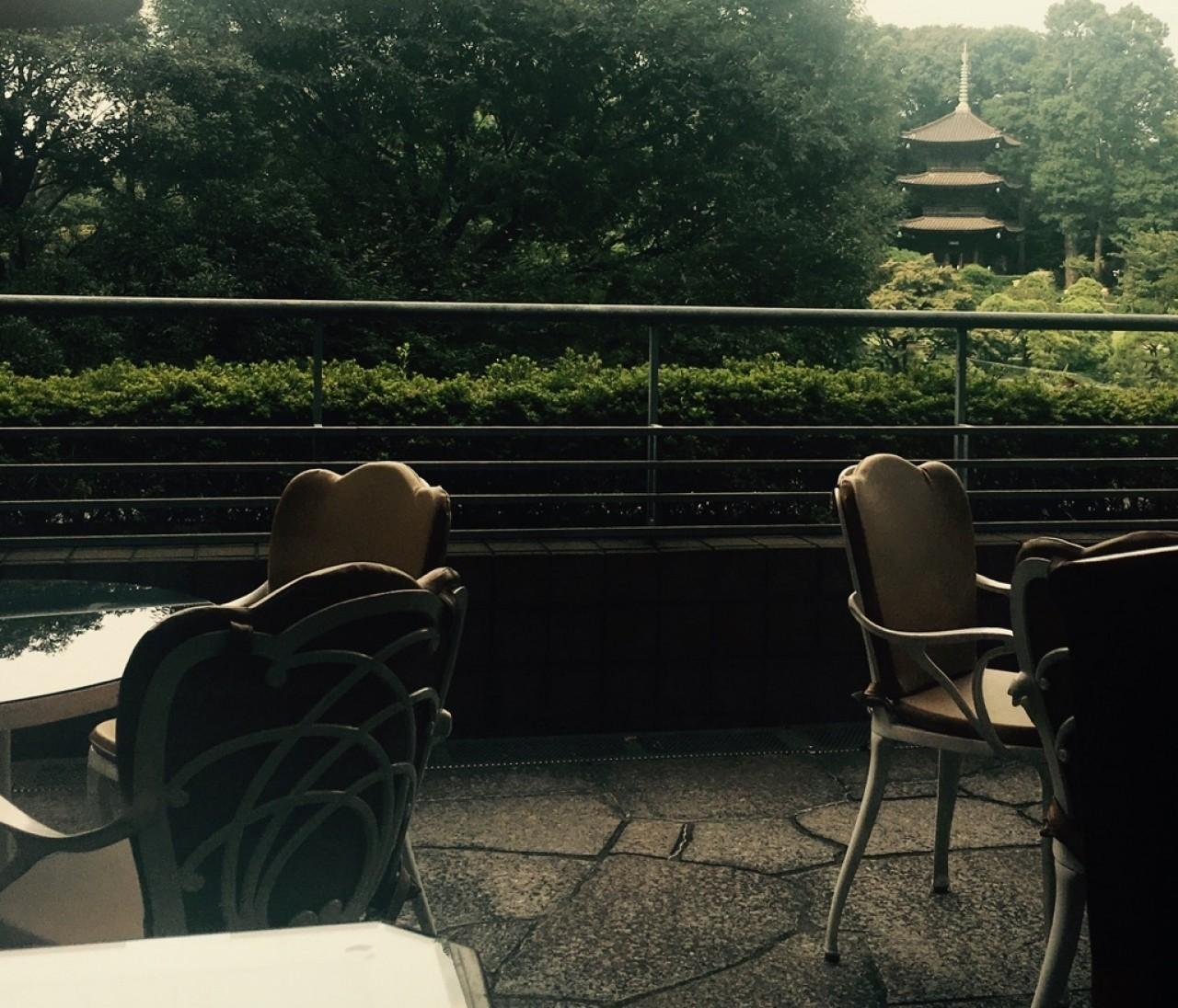 徹夜明けは椿山荘にて、のんびり優雅系な朝ごはん