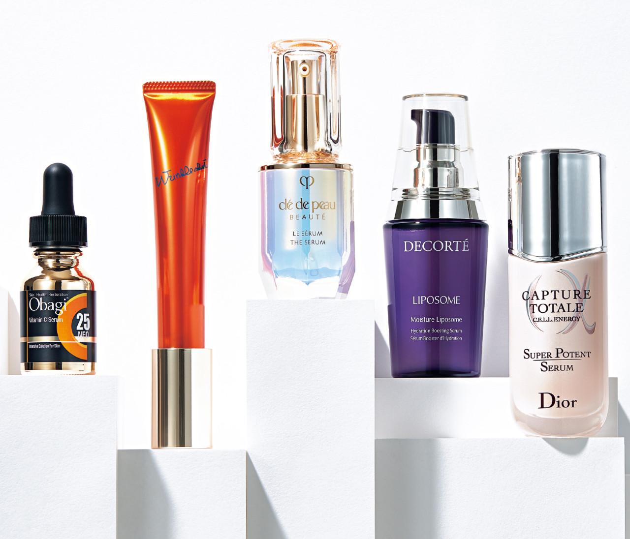 【名品美容液5選】ハイリターンを約束!美容家が投資してるのはこの5本